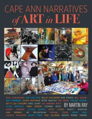 "Cover of the book ""Cape Ann Narratives of Art in Life by Martin Ray"""