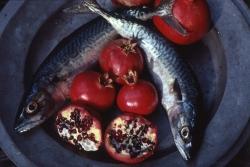Pomegranates and Mackerel